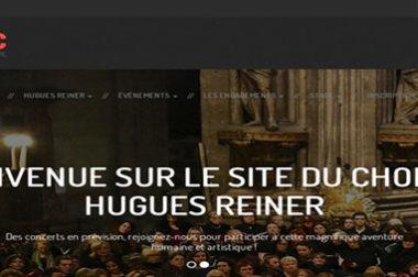 Création du site : Choeurhuguesreiner.com