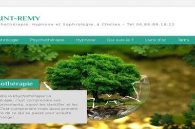 Création du site : Isabellesaintremy.com