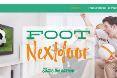 Création du site : Footnextdoor.fr