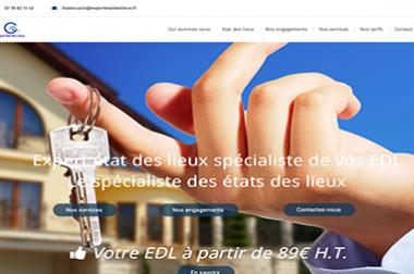 Création du site : Expertetatdeslieux.fr