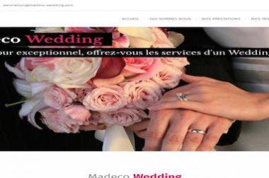 Création du site : Madeco-wedding.com