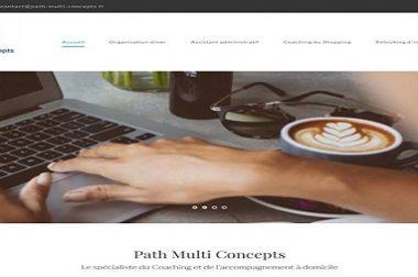Création du site : Path-multi-concepts.fr